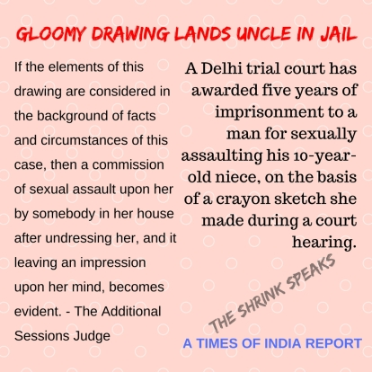 Gloomy Drawing LANDS UNCLE IN JAIL (1)
