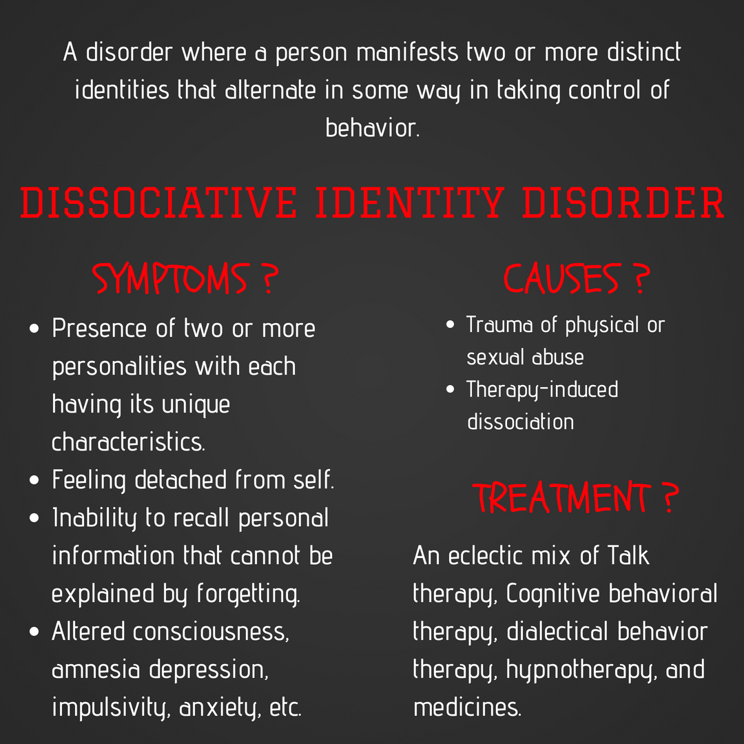 dissociative identity disorder – the shrink speaks